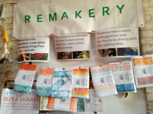 Shares in the Remakery project