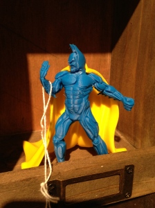 3D-printed superhero figurine