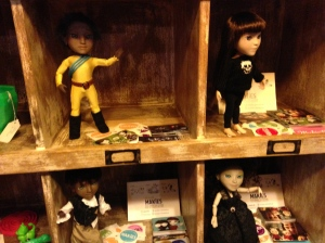 Makie dolls on display at iMakr